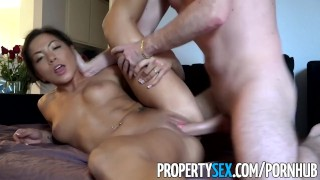 PropertySex - Thieving Asian real estate agent fucks her way out of trouble  real estate agent point of view asian real estate big cock hd asian amateur cowgirl reality deepthroat face fuck rough sex busted propertysex thief