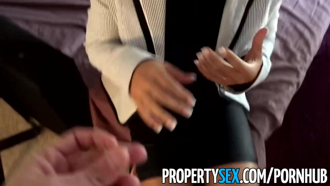 Propertysex thieving asian real estate agent fucks client 7