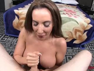 Lycra Catsuit Porn Strokies Richelle Ryan Handjob, Big Tits Handjob Milf Pornstar Pov