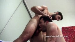 Hairy BJ and Rimming