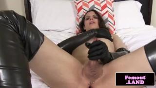 Jerks ass and newbie cock trap amateur toys jerking masturbating