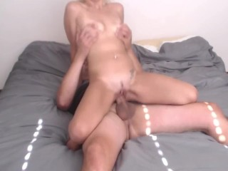Shione Cooper Hd Video Fucking, Tight Horny Blonde Chick Rides For a Creampie Blonde Creampie Pornst