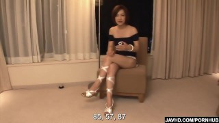 Subtitles - Japanese babe Nene Iino suck dick