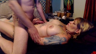 Massage with Creampie Finale Anal amateur