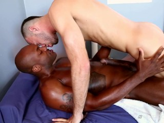 NextDoorEbony Brandon Jones and the Monster Black Cock