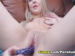 Hot College Babe Masturbate on Cam