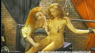 Bossy mistress gives her favorite slave an unforgettable bdsm experience
