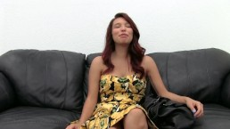 Cheating GF Assfucked and Inseminated on Casting Couch