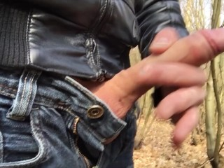 flashing my penis in public