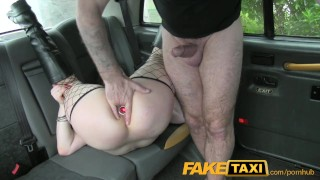 FakeTaxi kinky customer underwear fetish hardcore lingerie faketaxi rough point-of-view fishnet big-tits british blowjob gagging goth rimming carsex deepthroat spycam public pov brunette