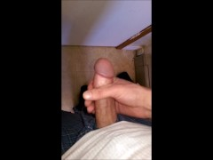 My Hard Cock Worship Film With Jism Finish
