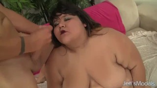 Horny Asian plumper Sugar gets fucked hard hardcore chubby bbw fat asian chunky jeffsmodels
