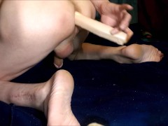 Anal creampie crazy toy play dildo and but plug best play time edited 2