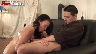FUN MOVIES Real Amateur Couple going Anal Hard bombshell