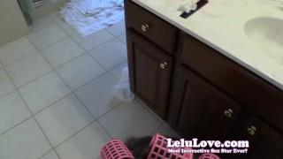 Lelu Love-Standing Doggystyle Cumshot In Hair Curlers