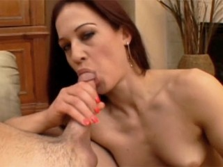 Cheating wife rides a monster cock