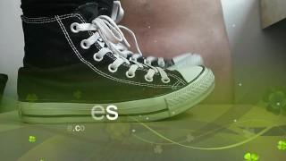 Trampling CBT by Converse  shoes all stars chucks cbt kick trample foot femdom converse
