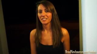 College girl on casting couch masturbates at Brandnewamateurs Sex orgasm