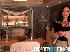 PropertySex – Hot Latina real estate agent fucks her client like a pornstar