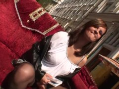 Innocent czech babe is cheated, filmed and fucked
