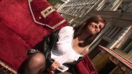 Une belle tchèque innocente est trompée, filmée et baisée