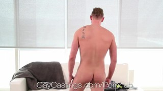 Casting perv agent fucked gaycastings grayson frost casting doggy