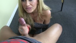 Your Sexy Latina Teacher Lisa Daniels Sucks you off! N you blow on her face