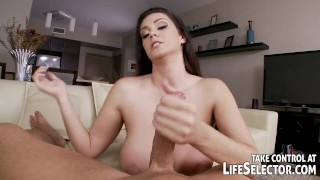 Best of Alison Tyler - Life Selector scenes  point of view big tits babe blowjob pov lifeselector hardcore curvy footjob foot fetish fingering facial alison tyler