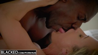BLACKED Cheating MILF Brandi Love's First Big Black Cock Ride bbc