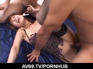 Mind blowing hardcore Asian sex with Sakurako