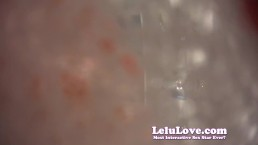 Lelu Love-POV Giantess Washes Hands And YOU