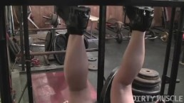 Teen Breanna Just Getting Started in the Gym