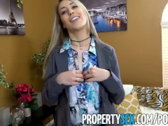 PropertySex – Best girlfriend ever gets all horny after selling house