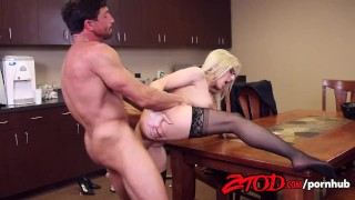Christie Stevens Pantry Poke In the Ass Facial sexy