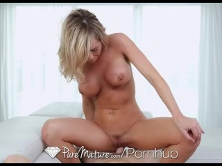 Teen Solo Pics And Video PureMature - Busty Milf Destiny Dixon loves hard cock