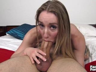 Horny moms clips she swallows a dbl cum load cum swallow facial cumshot pov