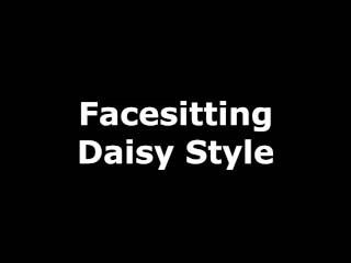 Daisy facesitting