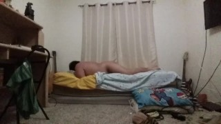 His bed chub boy for cums humps and request friend young penis