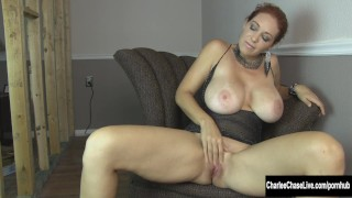 Home Renovation Fingering with Big Tit Charlee Chase Tits small