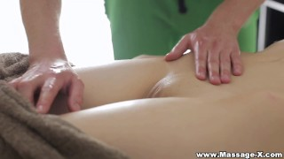 Massage-X - Anal on massage table