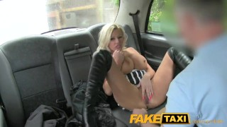 FakeTaxi Pornstar makes debut in London taxi  british amateur blowjob pornstar pov camera faketaxi milf spycam car reality rough dogging gagging deepthroat fake tits michelle thorne huge tits