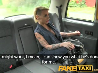 Hot Milf Strips Naked FakeTaxi Petite lady in sexy lingerie