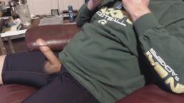 No. 157 - Sperm Gusher Wearing my Favorite Black Boxers [3-30-14]