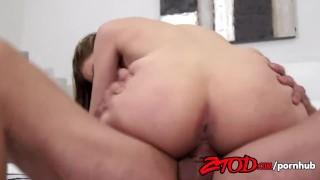 Sexy cheerleader Lyra Louvel fucks her boyfriend Cock small