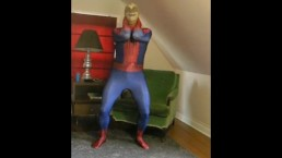 stocking skeleton masked spiderman