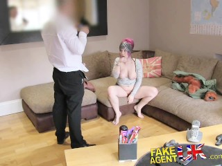 Shoot Your Load In Me Fakeagentuk Dirty Anal Loving Us Pornstar Fucked In Uk Casting