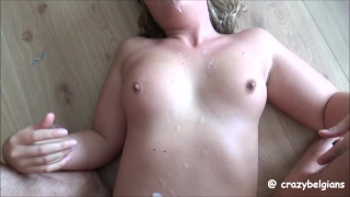 Biggest Amateur Cumshots on Body