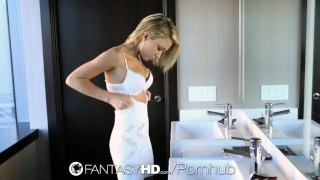 Preview 6 of FantasyHD - Petite Dakota Skye gets her wet pussy fucked