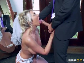 Teen Amateur Deepthroat Lexi Lowe gets one last cock before the wedding - Brazzers