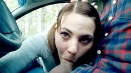 Driving Blowjob during OFF-ROAD trips
